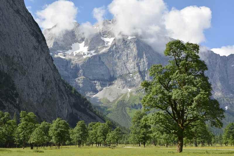 Das große Finale der König Ludwig Karwendeltour: Der große Ahornboden
