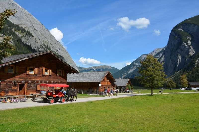 Großer Ahornboden: Die Engalm im Karwendel