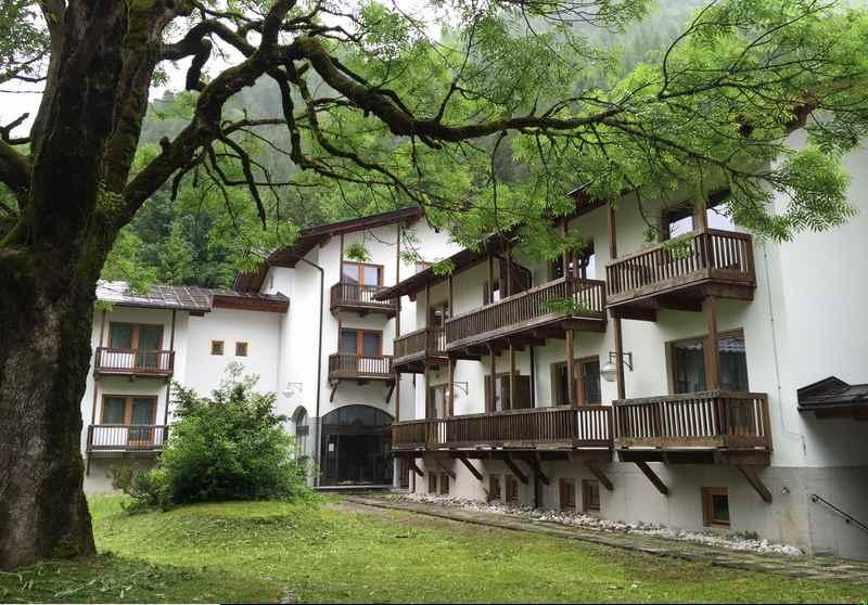 Herzoglicher Alpenhof im Karwendel, nahe des großen Ahornboden