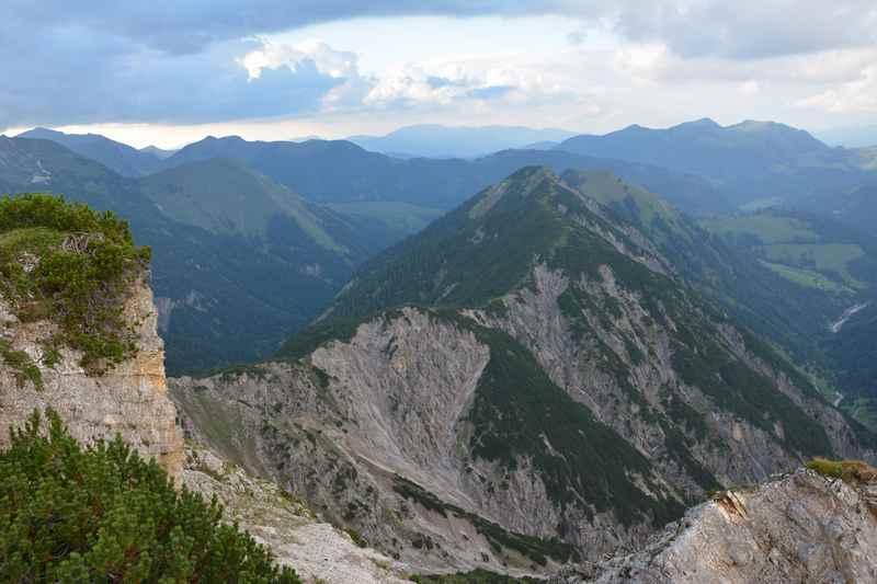 Von Hinterriss wandern im Karwendel am Kompar