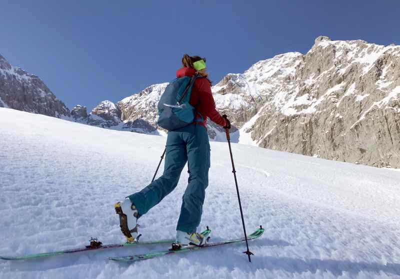 Wirklich eine der bekanntesten Frühlingsskitouren in den Alpen: Vom Ahornboden auf den Hochglück