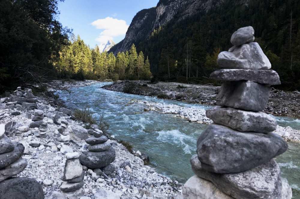 Einer meiner schönsten Plätze im Karwendel: Das Hinterautal beim Isarursprung