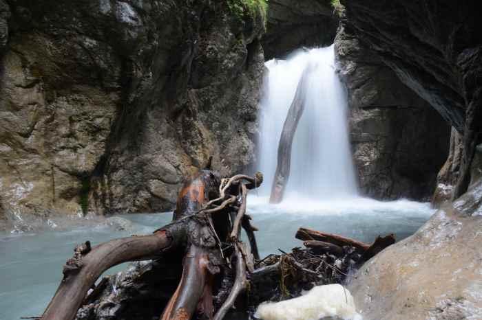 Ein Höhepunkt auf der Hüttentour: Die Wolfsklamm liegt am Ende der mehrtägigen Wanderung