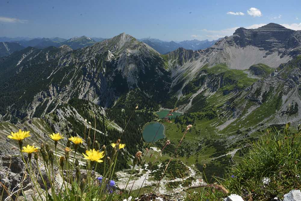 Die höchstgelegenen Seen im Karwendel: Die Soiernseen bei Mittenwald