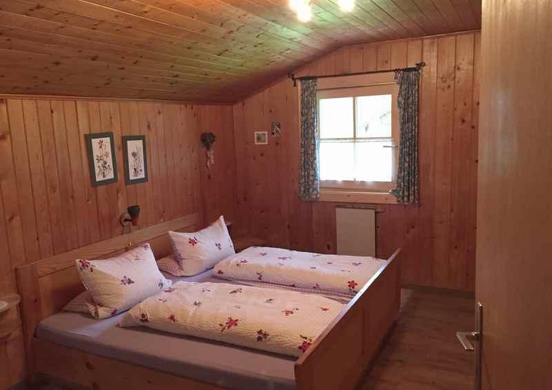 Die Zimmer in der Moarhütte in der Eng, Engalm