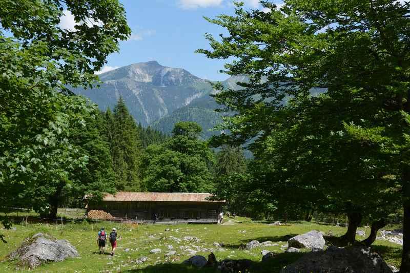Die Tortalalm im Karwendel