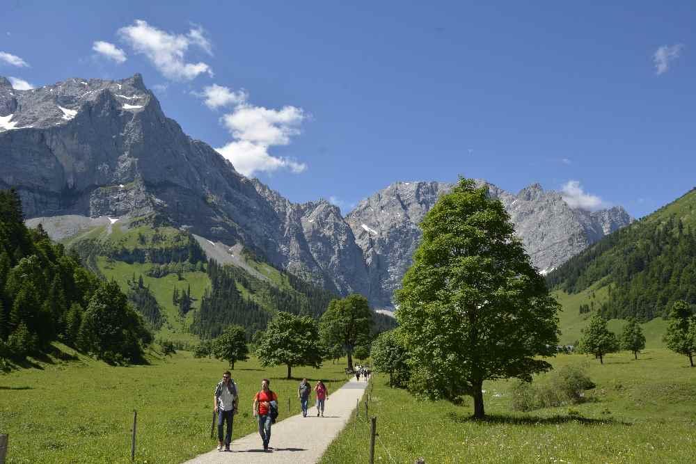 Schönster Platz der Alpen: Der Große Ahornboden im Karwendel