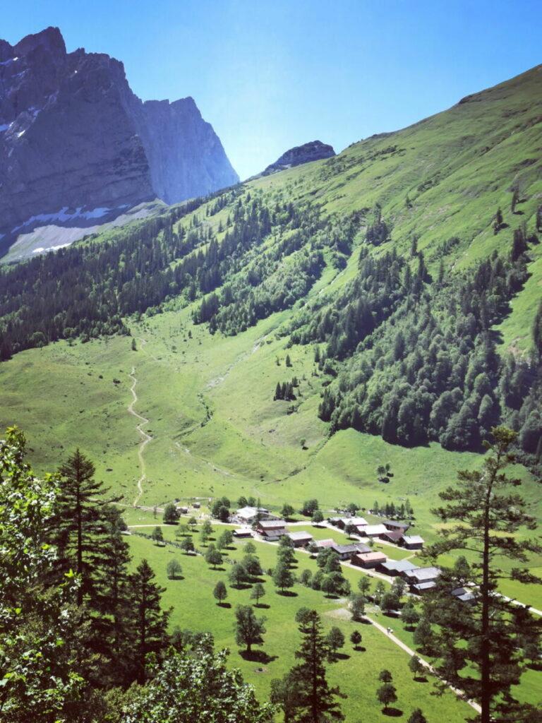 Ahornboden Wanderung - hier kannst du im Karwendel wandern: Von der Eng auf das Hohljoch