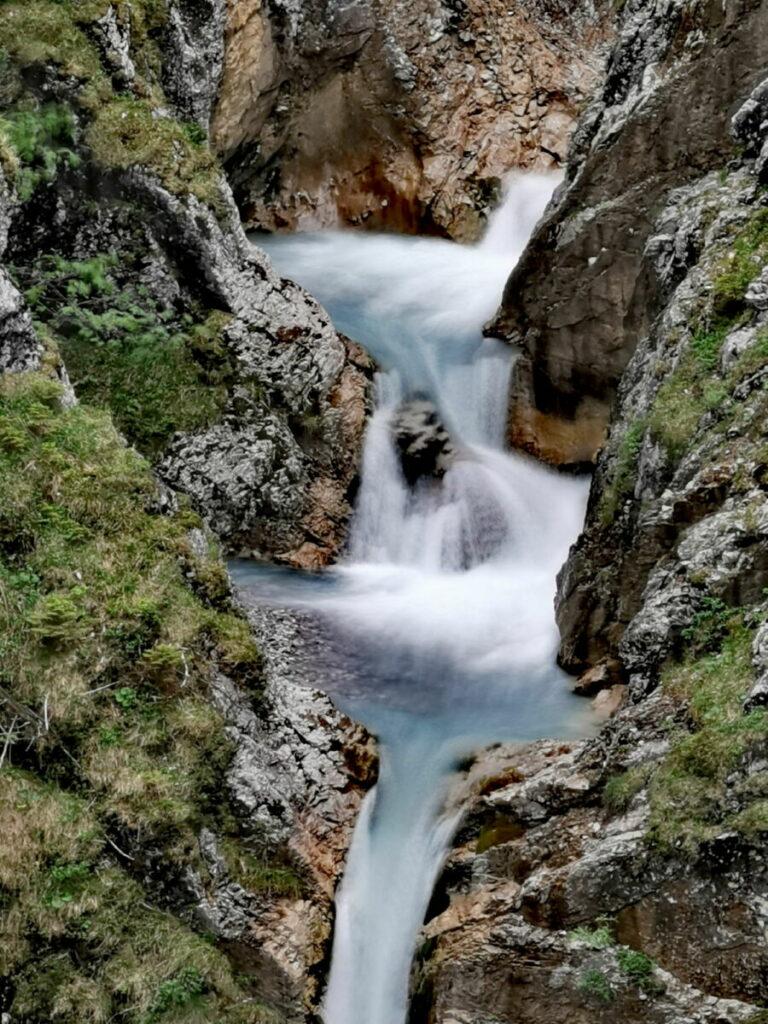 Ahornboden Wanderung - der Jungfernsprung in Hinterriss