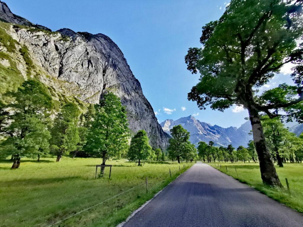 Ausflug Alpen - zum traumhaft schönen Ahornboden