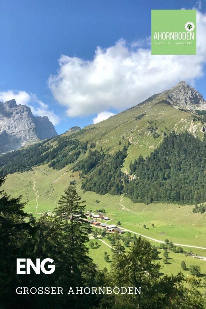 Traumhafte Landschaft in den Alpen