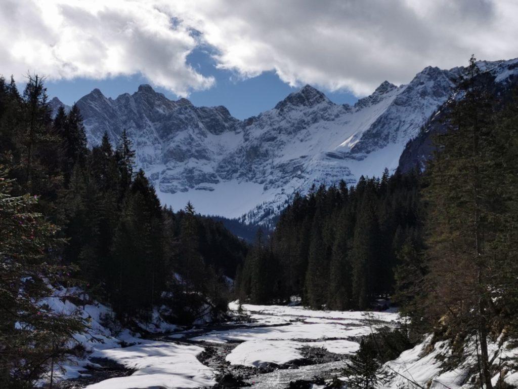 Karwendel: Das Johannestal im Winter