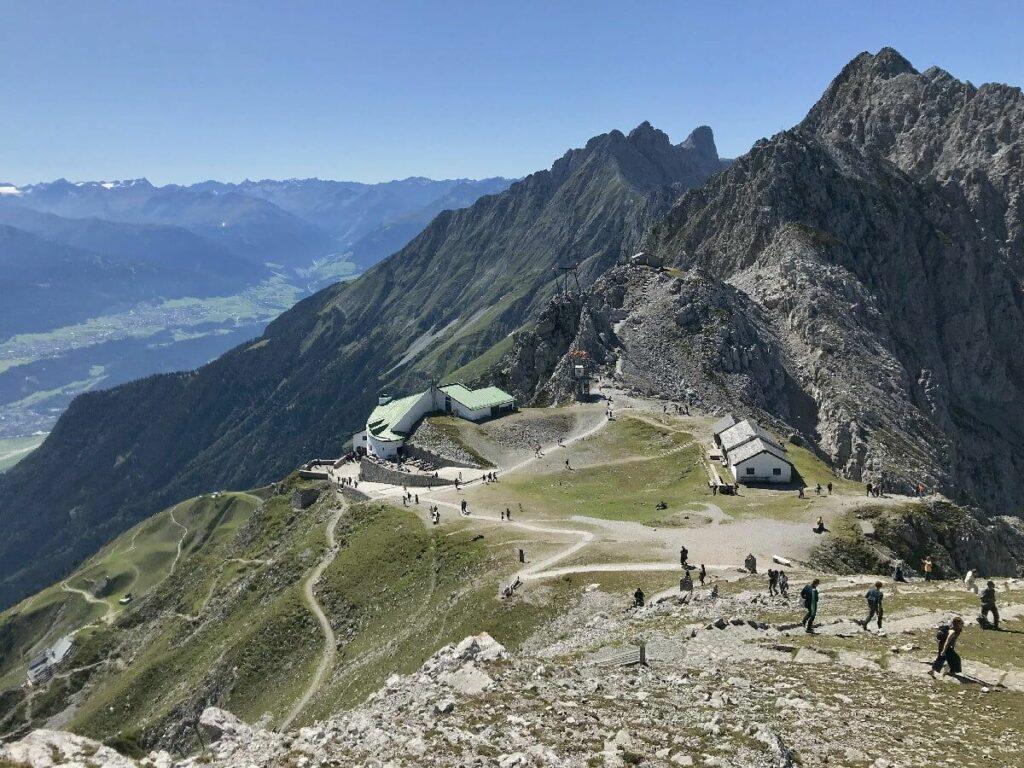 Das Hafelekar ist ganz oben im Karwendel, auch als TOP OF INNSBRUCK bezeichnet