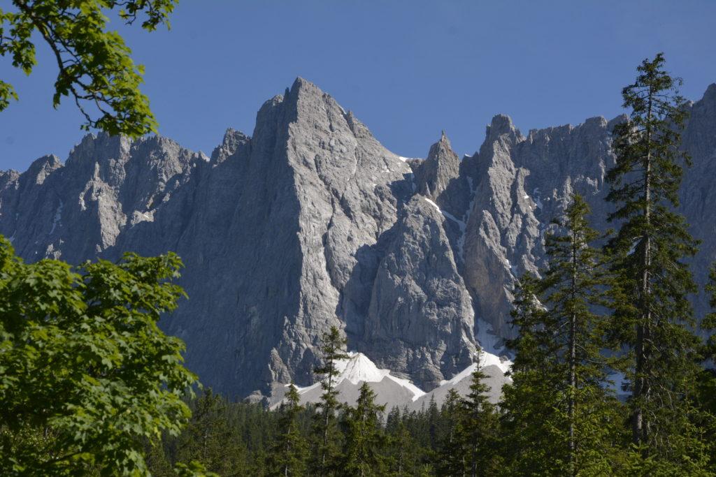 Die Herzogkante siehst du am Kleinen Ahornboden im Karwendel