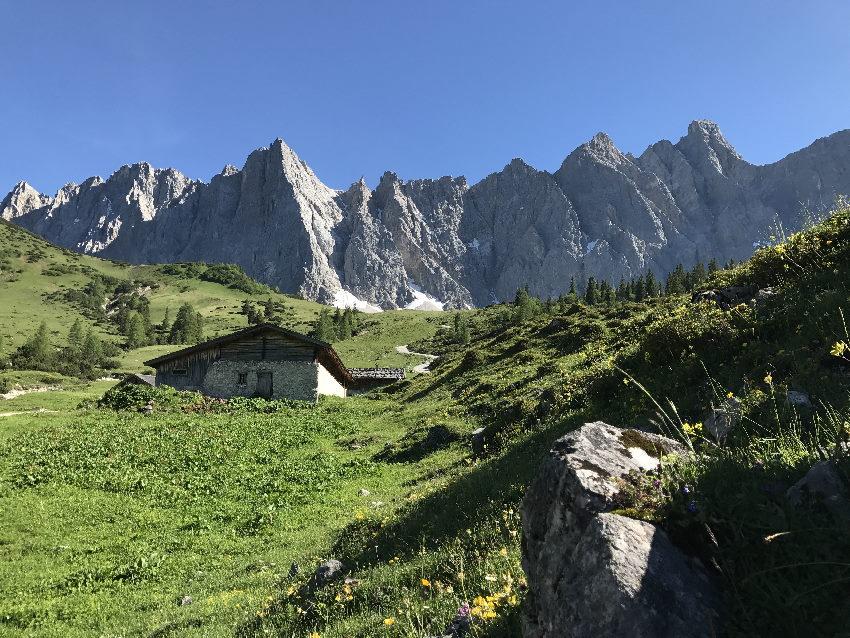 MTB Ahornboden - tolle Gegend zum Mountainbiken im Karwendel