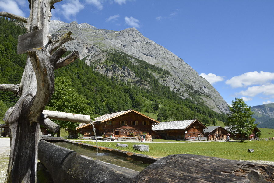 Moar Hütte Engalm - mitten im Karwendel
