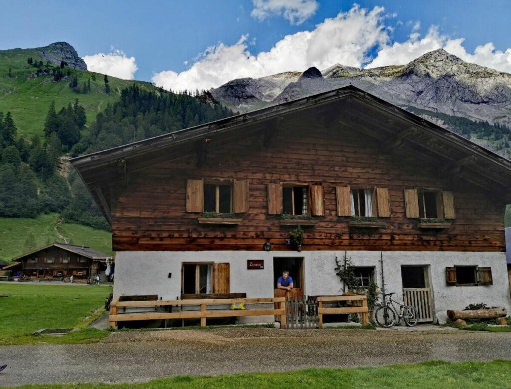 So schön liegt die Nockhütte im Karwendel