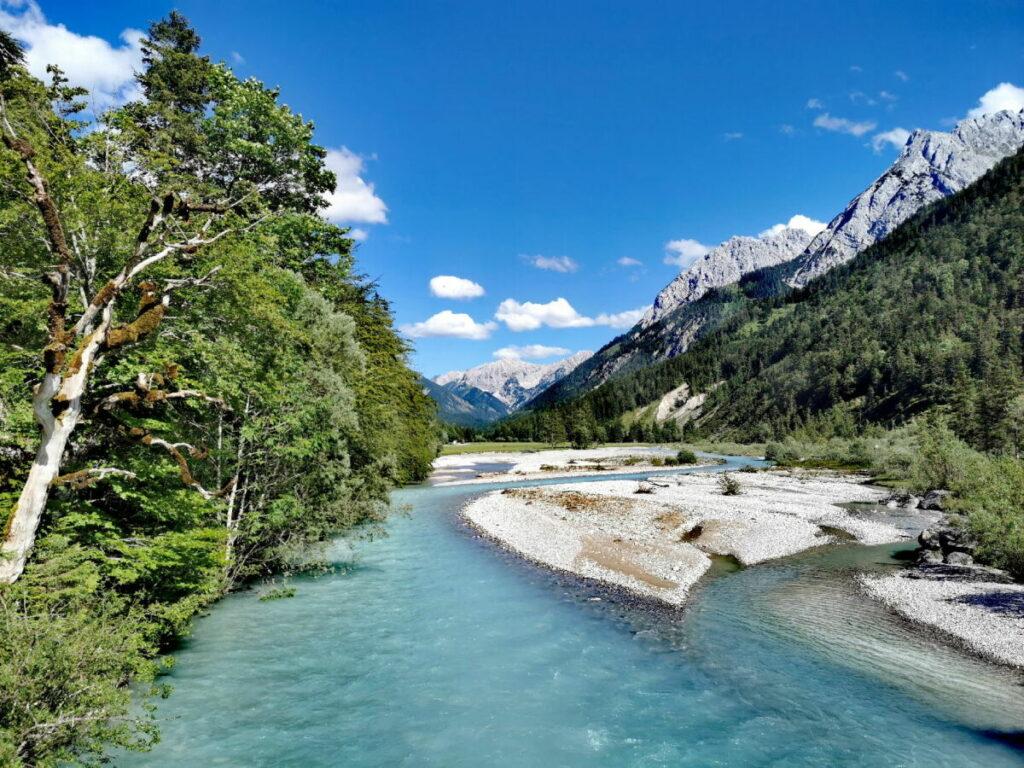 Entdecke den schönen Rissbach im Karwendel