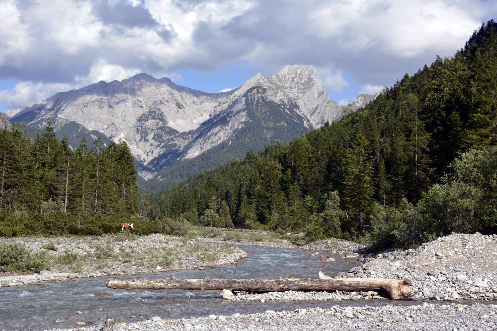 Rissbach: Wilder Fluß im Karwendel