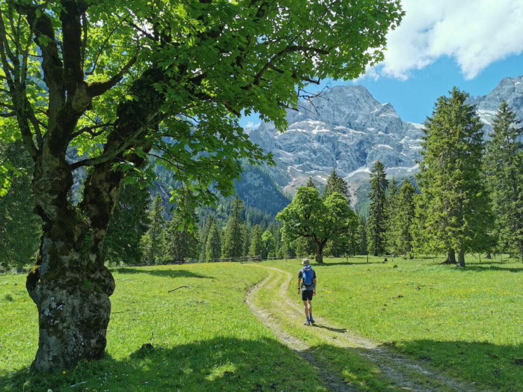 Geheime Wanderung ab Hinterriss aus dem Risstal ins Karwendel
