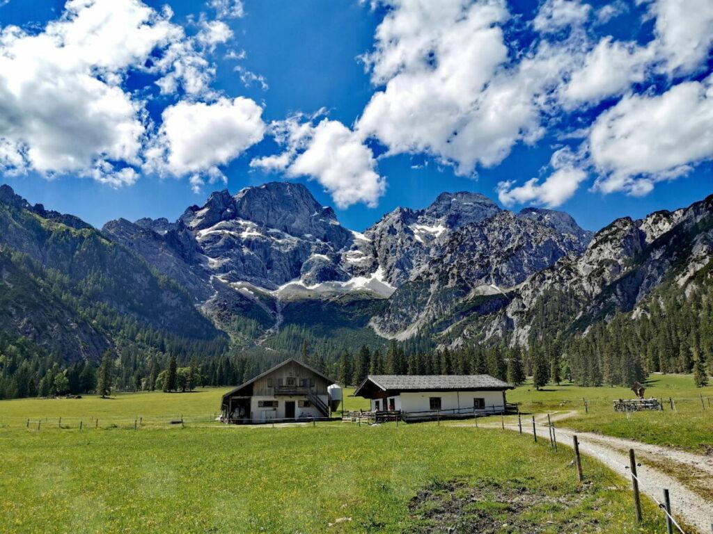 Tolle Wanderung im Karwendel: Zur Rohntalalm ab Hinterriß